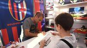 Rodrigo Palacio al Bfc store del Dall'Ara (foto Schicchi)