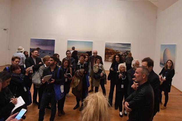 L'inaugurazione (Foto Schicchi)