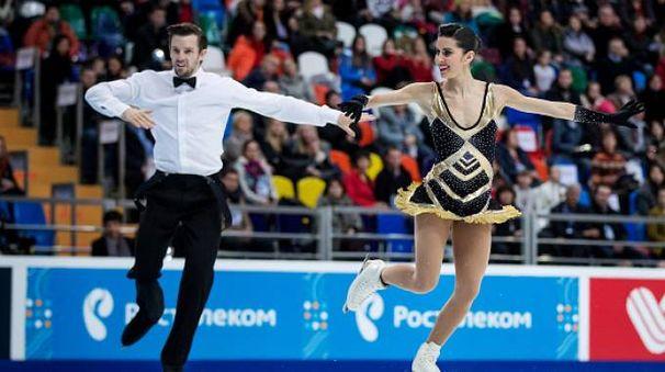 Ondrej Hotarej e Valentina Marchei