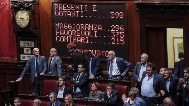 La Camera ha approvato il Rosatellum bis (Ansa)