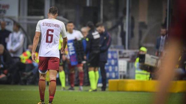 Strootman non ci sarà contro il Napoli