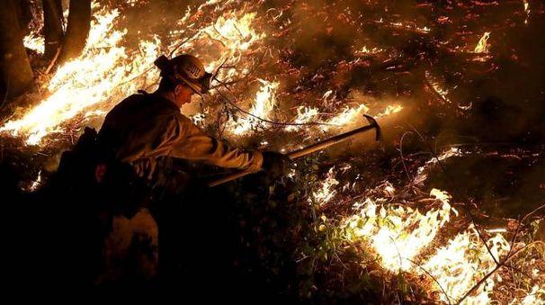 Incendi in California, emergenza senza fine - Afp