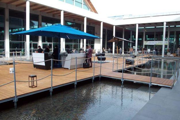 Il bar galleggiante di Roberto Semprini - Photo Petrangeli