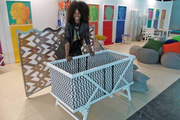 Creazioni di Ramberti con l'architetto Christi Joan - Photo Petrangeli