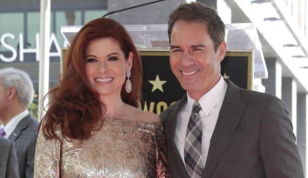 Will & Grace:  Debra Messing e Eric McCormack sulla Walk of fame - Ansa