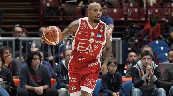 Jordan Theodore dell'Olimpia Milano (Liverani)