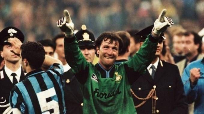 Walter Zenga, recordman di presenze tra i portieri dell'Inter