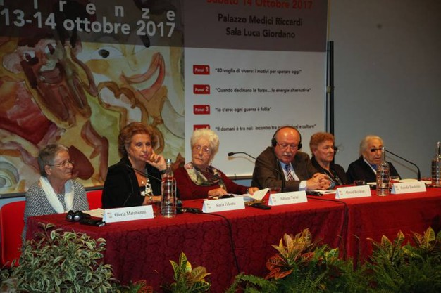 """Palazzo Vecchio, convegno """"La forza degli anni"""" (Foto Umberto Visintini/New Press Photo)"""