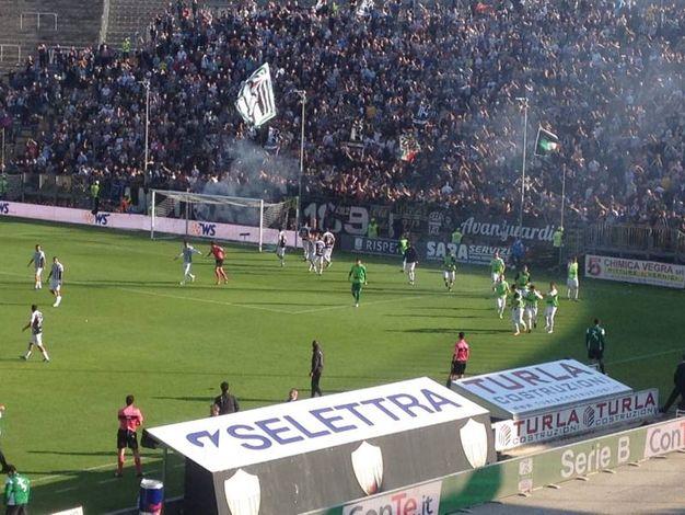 Rocambolesco 3-3 tra Ascoli e Venezia (foto Mariotti)