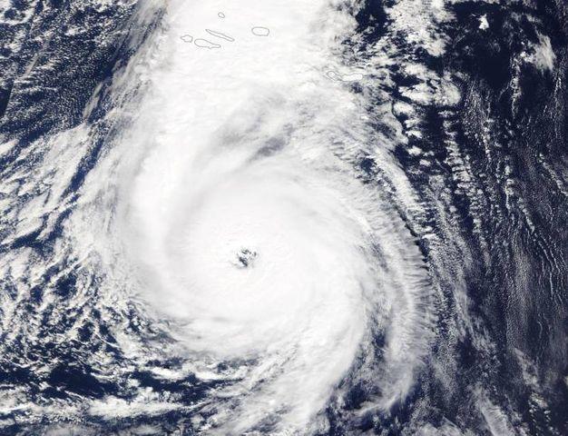 L'immagine satellitare della Nasa (Ansa)