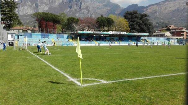 Lo stadio di Lecco oggi