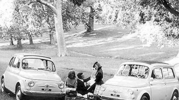 Un pic-nic fuori porta negli anni Sessanta