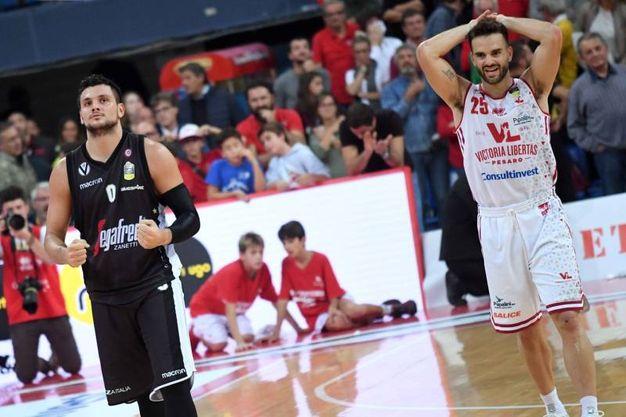 Alessandro Gentile e  Pablo Bertone (Foto Ciamillo)