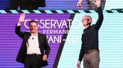 Andrea Ceccherini con Tim Cook, Ceo di Apple (Fotocronache Germogli)