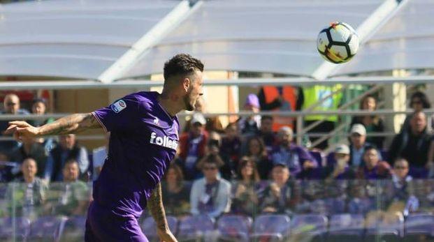 Thereau, attaccante della Fiorentina (Germogli)