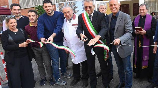 Zivieri, l'inaugurazione (foto Schicchi)