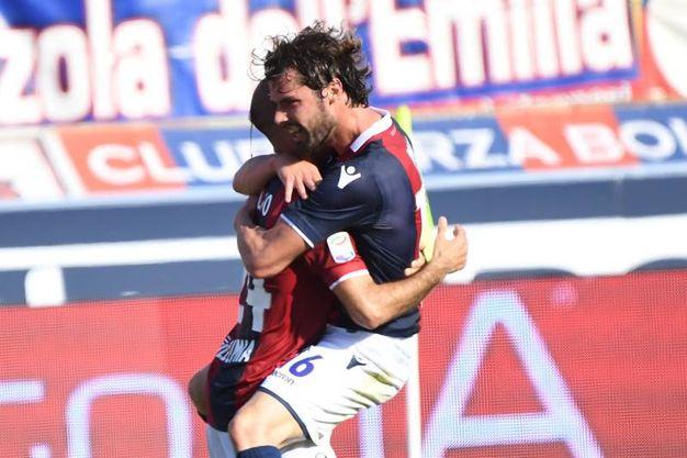 L'abbraccio (foto Schicchi)