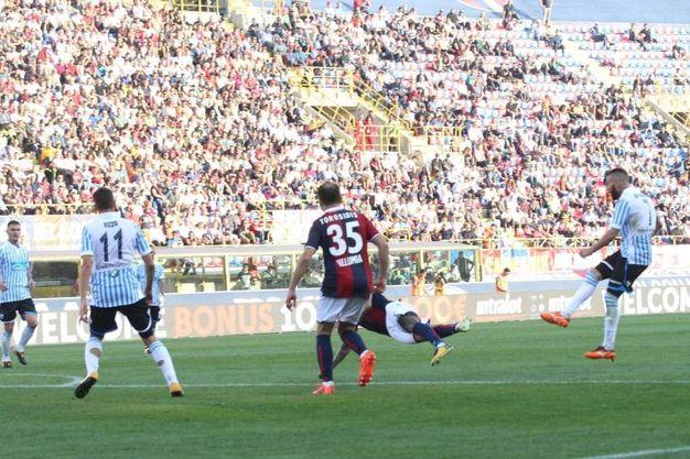 Il gol di Antenucci all'88' (foto Ansa)