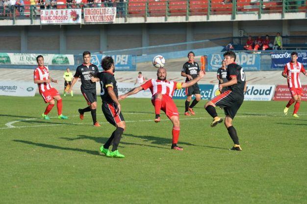 Forlì - Fiorenzuola è finita 0-1  (foto Frasca)