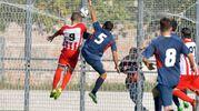 Il gol dello 0-1 di Olcese (FotoBinci)