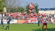 La festa dei tifosi della Vis Pesaro per la vittoria (FotoBinci)