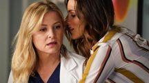Grey's Anatomy, la catanese Stefania Spampinato interpreta una ginecologa lesbica (Ansa)