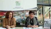 Dede Auregli, direttrice del museo di Bentivoglio, ha spiegato che l'esposizione a Fico sarà permanente (foto Schicchi)