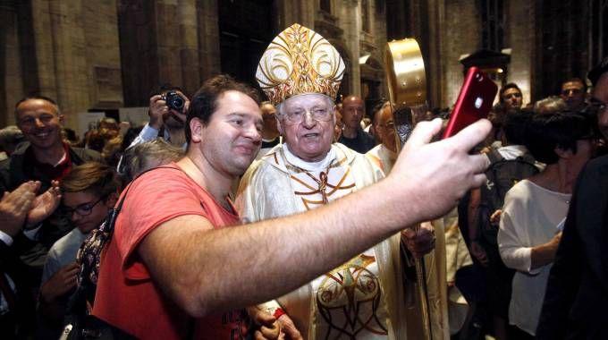 L'ex arcivescovo Angelo Scola (LaPresse)