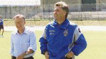 Carlo Ancelotti ai tempi della Juve