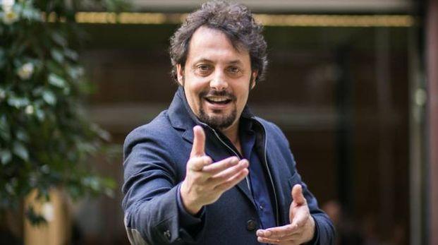Il comico Enrico Brignano