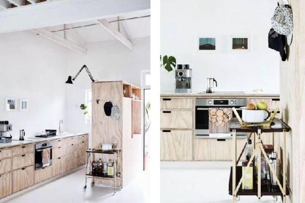 Vivere e lavorare in soli 58 metri quadrati magazine for Scala metri quadrati