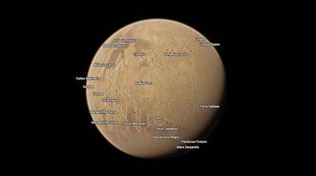 Andare su Marte con Google Maps (Foto: Google)