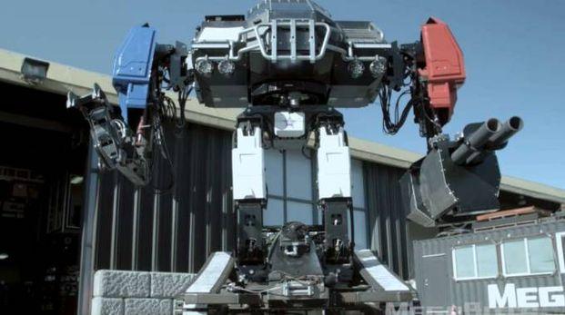 Il robot gigante americano (Foto: Megabots Inc/YouTube)