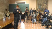 """Matteo Renzi ha ringraziato Fano per come """"ha risposto agli stimoli dei mille giorni di governo"""" (foto Marchetti)"""