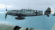 Un Bf109 G-6 simile a quello pilotato da Kurt Apostoluk e ritrovato a Poggio Renatico