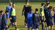 I giocatori  del Modena