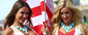 Grid Girls del Gp Usa (Lapresse)