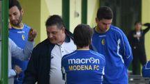 Il patron del Modena Aldo Taddeo (FotoFiocchi)
