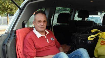 Marco Della Noce ora vive in auto