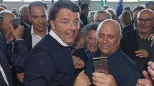 Matteo Renzi a Montegranaro (foto Zeppilli)