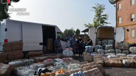 Ferrara, due tonnellate di droga sequestrate dai carabinieri