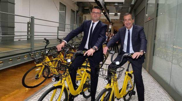 Bike sharing Ofo (Newpress)