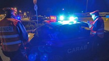 I carabinieri hanno intercettato l'auto rubata  a Villa Potenza (foto d'archivio)