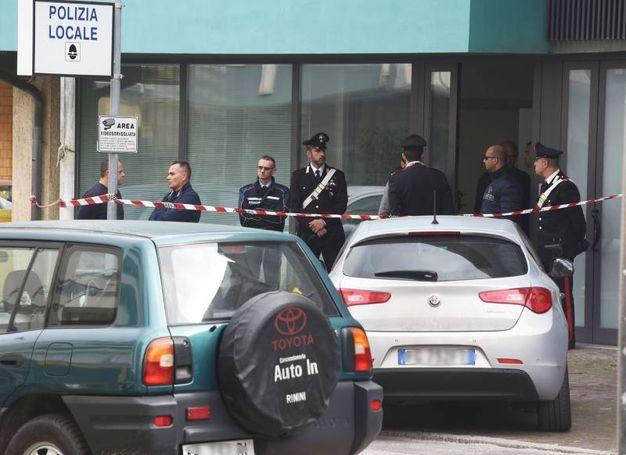 Tragedia a Bellaria (foto Migliorini)