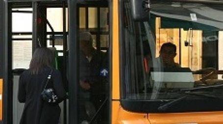 Un bus a Brescia