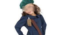 Il costume da Anna Frank messo in vendita online