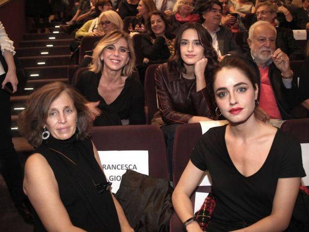 Francesca Gioli, Concita De Gregorio, Valentina Bellè e Matilde Gioli (foto Umberto Visintini/New Pressphoto)