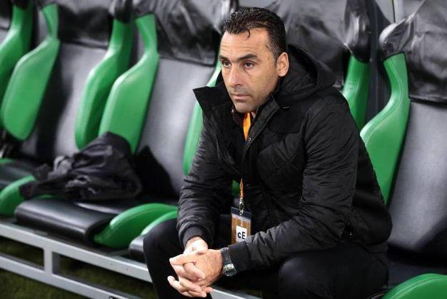L'allenatore dell'Apollon (Ansa)