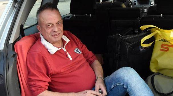 Marco Della Noce ora vive in auto (Brianza)