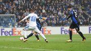 Il 3-1 dell'Atalanta con Freuler (La Presse)